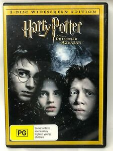 Harry Potter and the Prisoner of Azkaban - DVD - AusPost with Tracking
