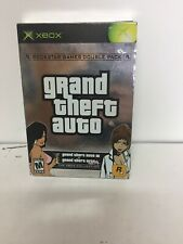 Grand Theft Auto Xbox Collection Double Pack (Microsoft Xbox, 2003) W/ Posters