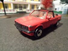 MATCHBOX BMW  323i CABRIOLET, RED             1/64 SCALE DIE-CAST METAL 5-25-14