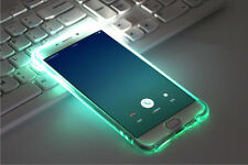 LED Flash Light UP Remind Incoming Call Cover Case For Samsung Galaxy iPhone