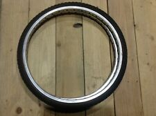 Araya 20 1 3/8 Pro Class rims wheels set 2 80s old school Bmx comp 3 III tires