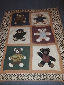 Home Made Bear Baby Blanket