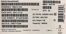 Intel SSDSC2BA400G4 NE SSD DC S3710 Series 400GB, 2.5in SATA 6Gb/s, 20nm, MLC