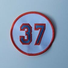 """New York Mets Casey Stengal Retired Jersey Number 37 Sew on Patch Embroidered 3"""""""
