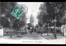 MENNECY (91) PORTE de PARIS animée en 1910