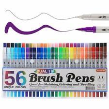 Fabric Markers Permanent Pens Paint Clothing Textile Dye T-Shirt Shoes Diy Set