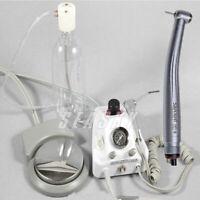 dentale portatile Air Turbine Unit Fit Compressor+manipolo ad alta velocità 4-H