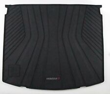 2014-2018 Mazda 3 5 Door Cargo Tray - Black with Full Color Logo 0000-8S-L04