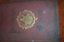 Picturesque EUROPE G. Britain  Hard Cover 1878  *****
