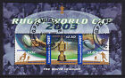 2003 Rugby World Cup CTO Mini Sheet - GPO Melbourne
