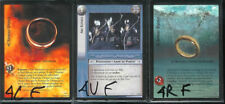 LOTR CCG TCG The Two Towers Set FRENCH