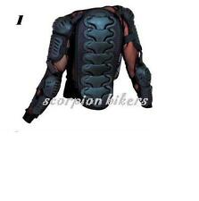 Motorcycle Motocross Body Armour Back Spine Protector S