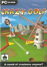 Crazy Golf (PC CD) Game * NEW * & Factory Sealed, FREE US First Class Shipping