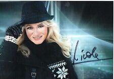 Originalautogramm - Nicole
