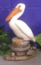 Small Nautical Pelican Bird Latex Fiberglass Production Mold Concrete Plaster