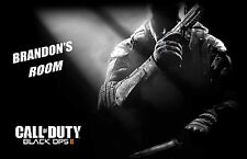 Black Ops 2 Personalized POSTER Any name or Gamertag 24 X 36 Inches