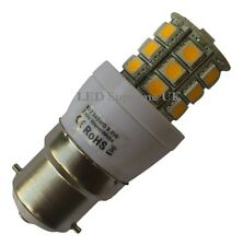 B22 24 SMD LED 380LM 3.8W Dimmable White Bulb ~50W