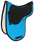 Horse Quilted ENGLISH SADDLE PAD Trail Cotton Jumping Contoured Gel 7291