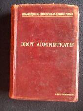 Droit administratif, Bibliothèque du conducteur de travaux publics, 1897