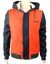 Eleven Paris Men's CELK Duffle Jacket Red/Navy (EPJK002)