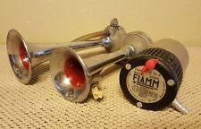 FIAMM AIR HORN SPORT SERIE 2000 TA/0 w/ COMPRESSOR MASERATI FERRARI LAMBORGHINI