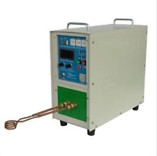Hot! 15KW 30~80KHz High Frequency Induction Heater Furnace 220V Fast Shipping