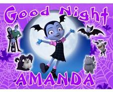 "VAMPIRINA PILLOWCASE #2 ""GOOD NIGHT"" Personalized Any NAME Super Soft Bedding"
