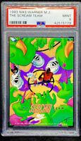 Michael Jordan 1993 Nike Warner Brothers Scream Team PSA 9 POP 14