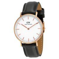 New Authentic Daniel Wellington DW00100036 / 0508DW Unisex Watch Rose Gold Tone