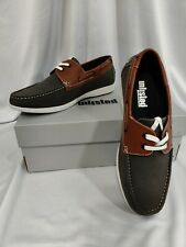 UNLISTED BY KENNETH COLE MEN'S COMMENT-ATER BOAT SHOES BROWN Size 10.5 M NWB!!