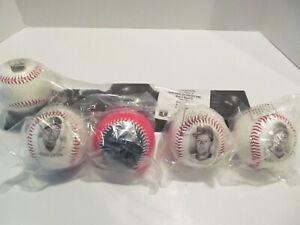 Burger King Cleveland Indians Fotoball Display Stand and Baseballs 1996 MLB