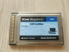 Original 3Com 3CCFE575CT 10/100MB 10 100 MB Ethernet Cardbus PC Card PCMCIA