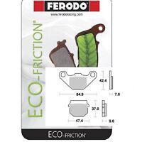 Plaquette de frein arrière FERODO Organique 313 Aprilia RS4 50 2011 à 2016