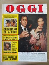 OGGI n°11 1975 Charlorre Rampling Carole Andre Gilda Agostina Belli [G802]