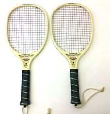 Vintage Pair Used Rare Dunhill Official DX2000 Racquetball Rackets Racketball