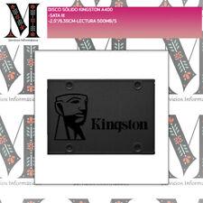 "SSD DISCO SÓLIDO KINGSTON A400 - SATA III - 2.5""/6.35CM-LECTURA 500MB/S"