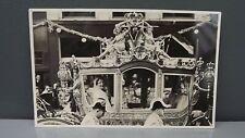 1937 Wedding Carriage Postcard Princess Juliana & Bernhard of the Netherlands