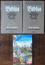 Vollständiger Nachdruck der Luther-Bibel von 1534. Taschen Verlag. 2002.