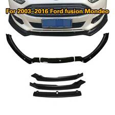 For Ford Fusion Mondeo 2013-2016 Front Bumper Lip Splitter Body Kit Spoiler 3PCS