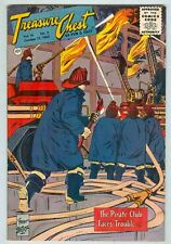 Treasure Chest V16 #3 October 1960 G/VG Firemen cover