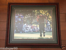 Tiger Woods UDA 16x20 Autographed Framed 2000 PGA Championship Signature