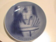 2nd Edition Old Copenhagen Blue Denmark Mors Dag 1971 Mother's Love Plate Mint