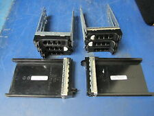 "LOT of 8: Dell PowerEdge 3.5"" Hard Drive Caddies, 2x Caddy Fillers"