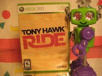 Tony Hawk Ride Xbox 360 Skateboarding Game