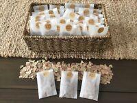 Organic Gum Leaf Confetti handmade 100% ECO friendly  Nature with Love 10 bags