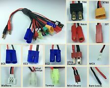 RC Multi-Functional Lipo Battery Charging Universal Adapter Plug Cable wire