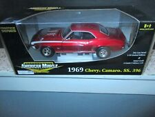 1/18 Unopened! Ertl, 1969 Camaro SS 396, Pro Stock Series, Limited Edition LOOK
