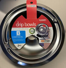 Range Kleen 139402Xcd5 Style B Heavy Duty Chrome Drip Bowl 1 Ge Kenmore Hotpoint