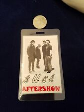 Bush LAMINTED  Backstage Pass -  AFTERSHOW