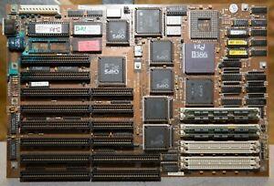 Vintage 386DX-25 motherboard 4MB RAM tested 0033033